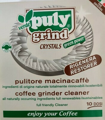 Puly Grind Verde Crystals- Box of 10 Sachets