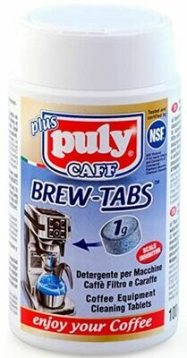 Puly Caff Plus Brew-Tabs  Box of 1 g * 100