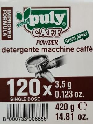 Puly Caff Verde Espresso Machine Powder Sachets 3.5g * 120 pcs