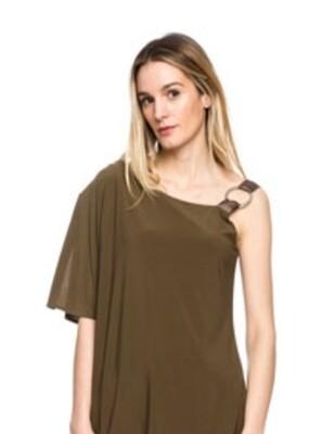 Asymmetric Dress Van Dos