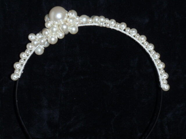 Pearl encrusted hairband
