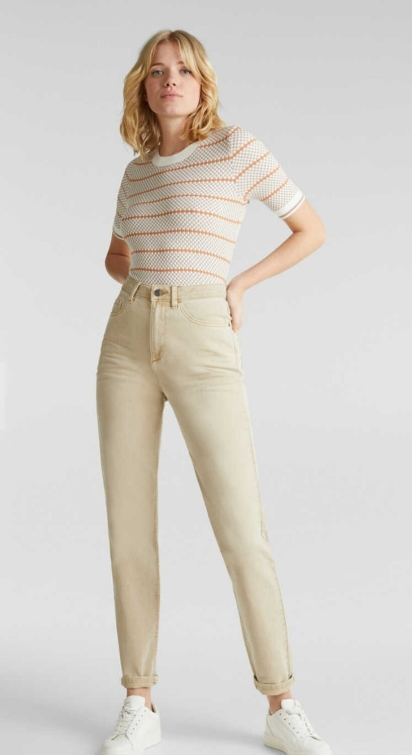 Stretch jeans high rise - Mom fit