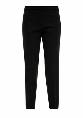 Trousers with tuxedo stripe