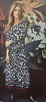 Round Neck Maxi Dress