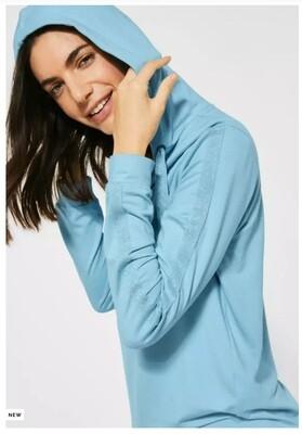 Hoodie shirt with glitter