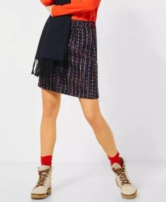 Short Bouclé Skirt