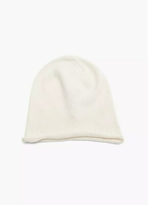 Knit Hat with Cashmere