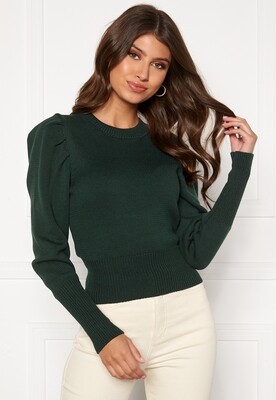 Dark Green Knitted Sweater