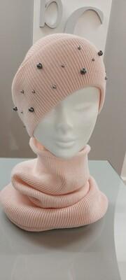 Knit Hat & Snood