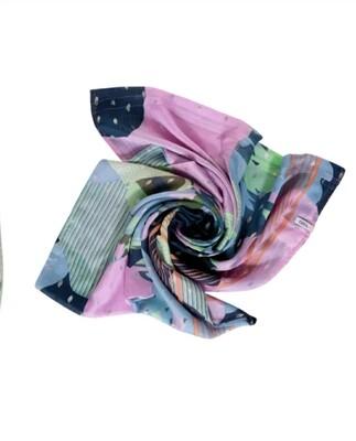 Delicate loop with foil print