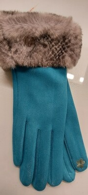 Fur Cuff Gloves
