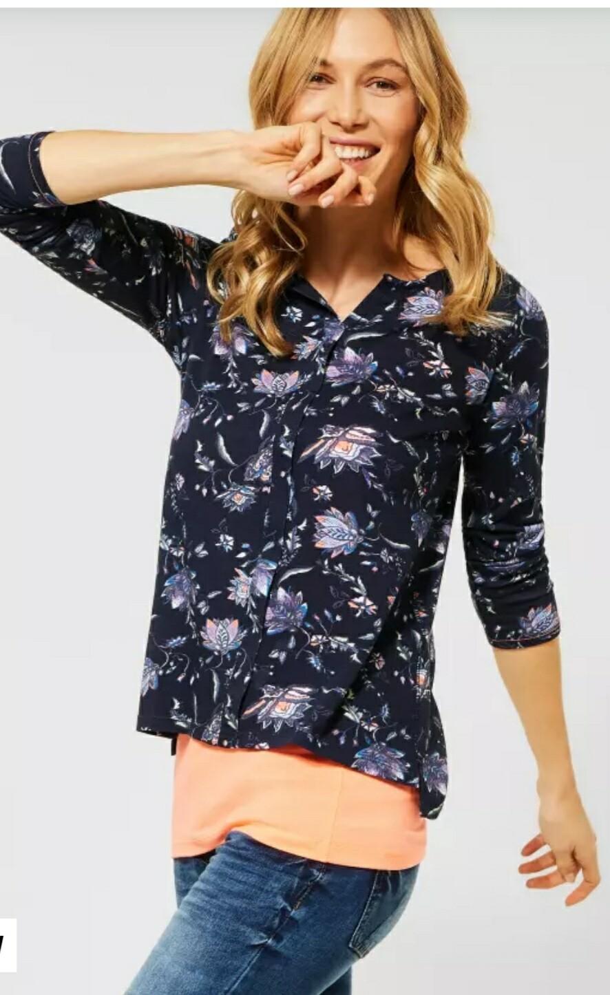 Tunic Flower T Shirt