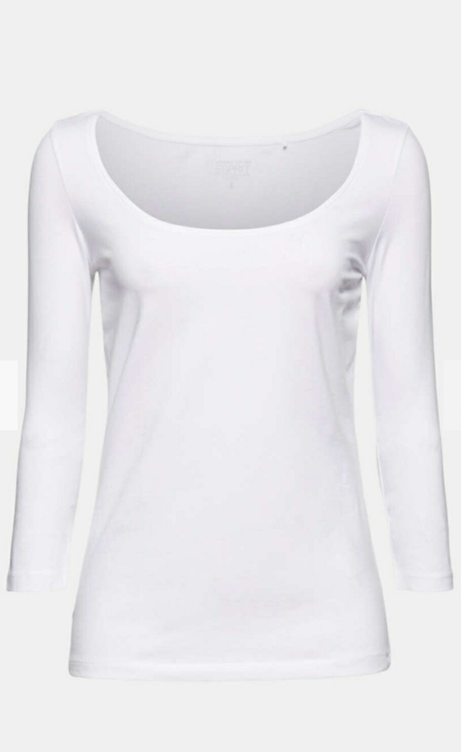 Long sleeve top with organic cotton