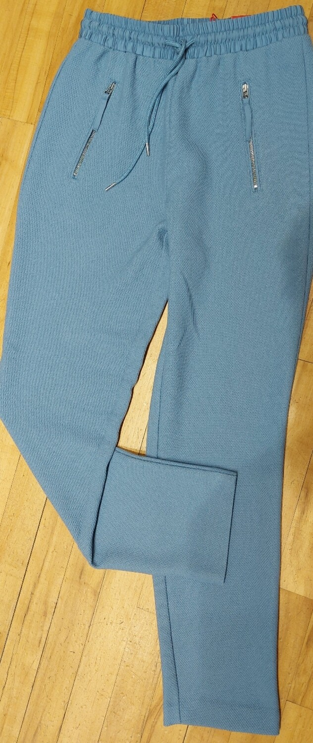 Joggers in Pale Blue