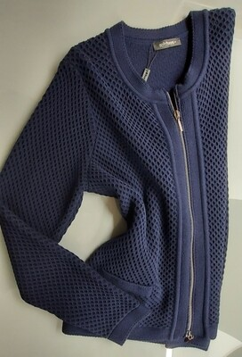 Honeycomb Knit Cardigan