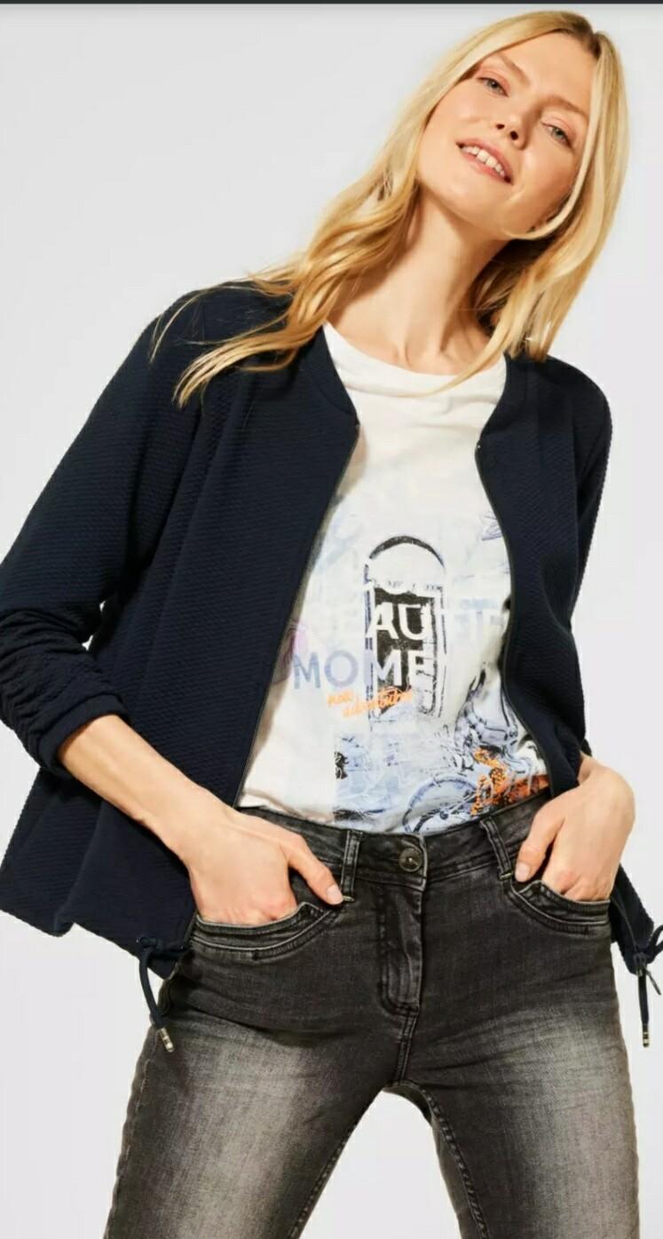 Sporty T-Shirt Jacket