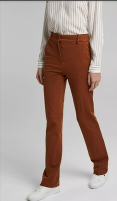 High-rise jersey trousers