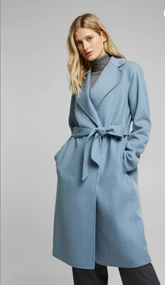 Wool blend: Double-faced coat