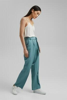 SOFT Mix + Match linen blend trousers