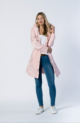 Spring Coat in Pale PInk