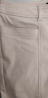 Crop Trousers with Ruche Detail