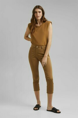 Super stretch capri trousers