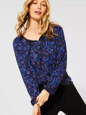Floral Print Tunic Shirt