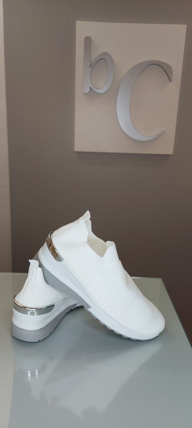 Trainer Shoe with Wedge
