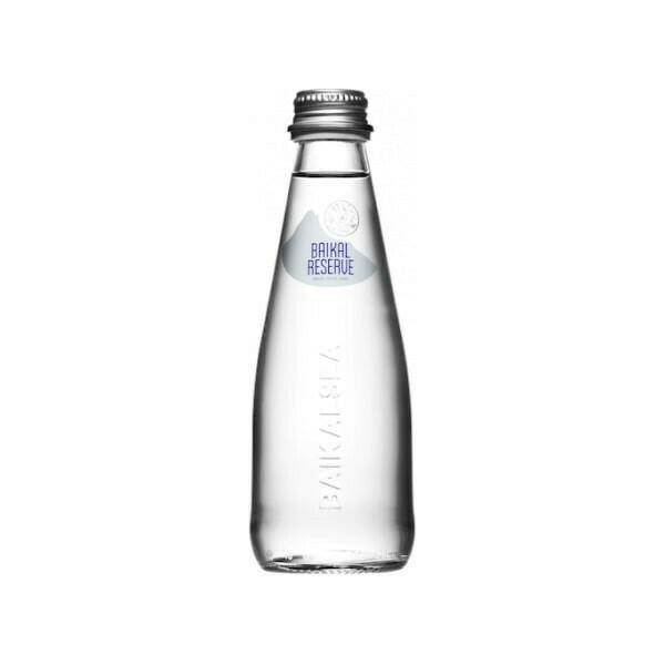 Минеральная лечебно-столовая вода «Байкал Резерв» (BAIKAL RESERVE), Стекло, 24 шт. по 0,25 л