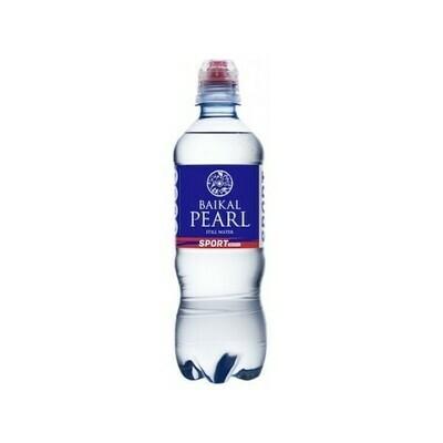 Природная вода «Жемчужина Байкала» (BAIKAL PEARL) SPORT, ПЭТ, 12шт. по 0,5 л