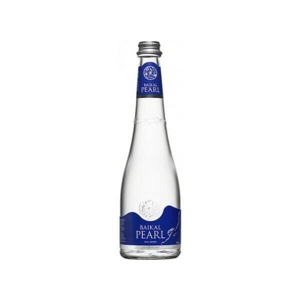 Природная вода «Жемчужина Байкала» (BAIKAL PEARL), Стекло, 20 шт. по 0,53 л