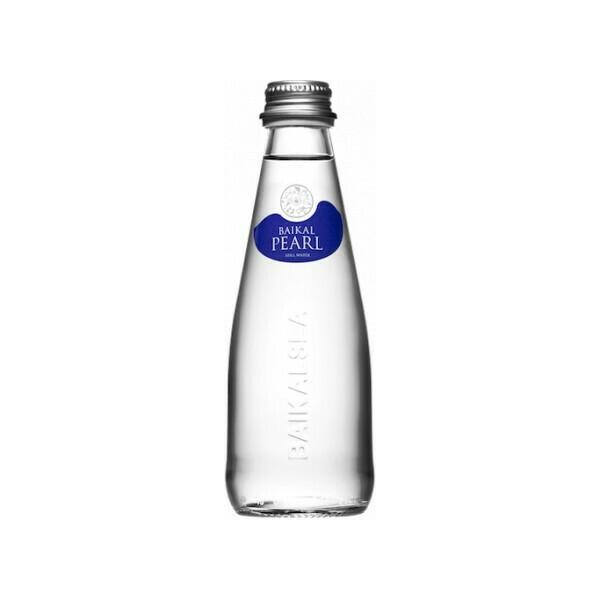 Природная вода «Жемчужина Байкала» (BAIKAL PEARL), Стекло, 24 шт. по 0,25 л