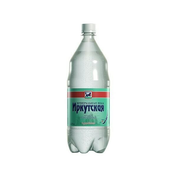 Минеральная лечебно-столовая вода «Иркутская», ПЭТ, 6 шт. по 1,25 л