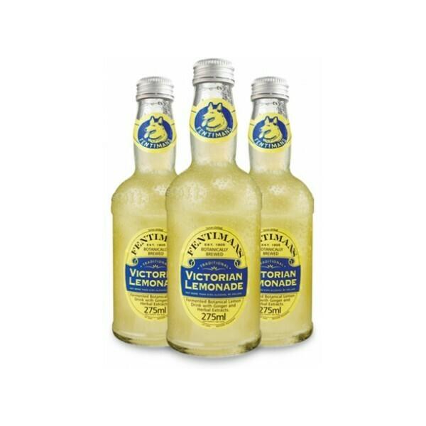 Лимонад Фентиманс «Викторианский» (Fentimans Victorian Lemonade), Стекло, 12шт. по 0,275 л