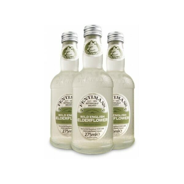 Лимонад Фентиманс «Бузина» (Fentimans Wild English Elderflower), Стекло, 12шт. по 0,275 л