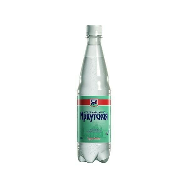 Минеральная лечебно-столовая вода «Иркутская», ПЭТ, 12шт. по 0,6 л