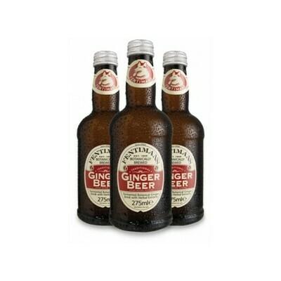 Лимонад Фентиманс «Традиционный Джинджер Бир» (Fentimans Traditional Ginger Beer), Стекло, 12шт. по 0,275 л
