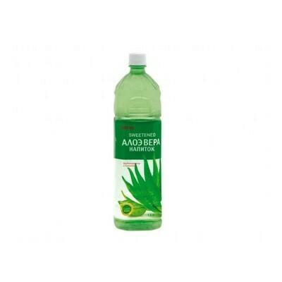 Напиток «Алоэ Вера» негазированный с мякотью алоэ (Lotte Aloe Vera), ПЭТ, 12 шт. по 1,5 л