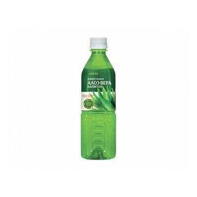 Напиток «Алоэ Вера» негазированный с мякотью алоэ (Lotte Aloe Vera), ПЭТ, 20 шт. по 0,5 л