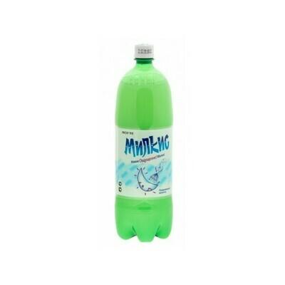 Напиток «Милкис» газированный Оригинальный (Lotte Milkis), ПЭТ, 12 шт. по 1,5 л