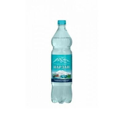 Минеральная лечебно-столовая вода «Нарзан», ПЭТ, 6 шт. по 1 л