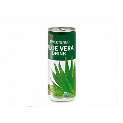 Напиток «Алоэ Вера» негазированный с мякотью алоэ (Lotte Aloe Vera), ЖБ, по 30 шт. по 0,24 л