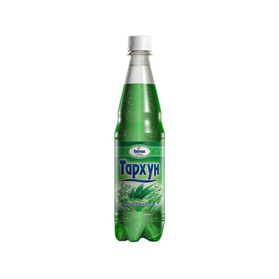 Сильногазированный напиток «Тархун», ПЭТ, 12 шт. по 0,6 л