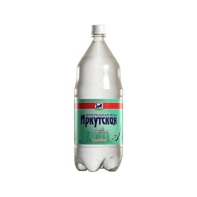 Минеральная лечебно-столовая вода «Иркутская», ПЭТ, 6 шт. по 2 л