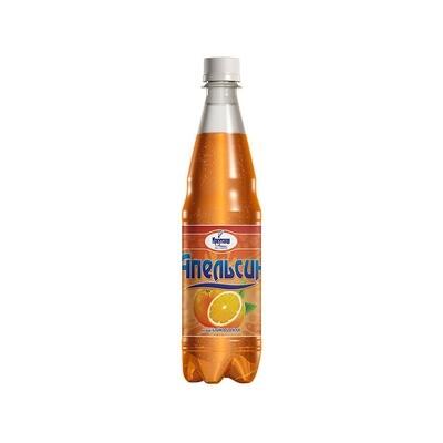 Сильногазированный напиток «Апельсин», ПЭТ, 12 шт. по 0,6 л