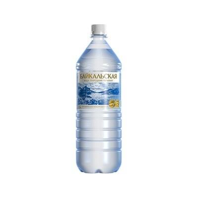 Питьевая вода «Байкальская» не газ., ПЭТ, 6 шт. по 1,5 л