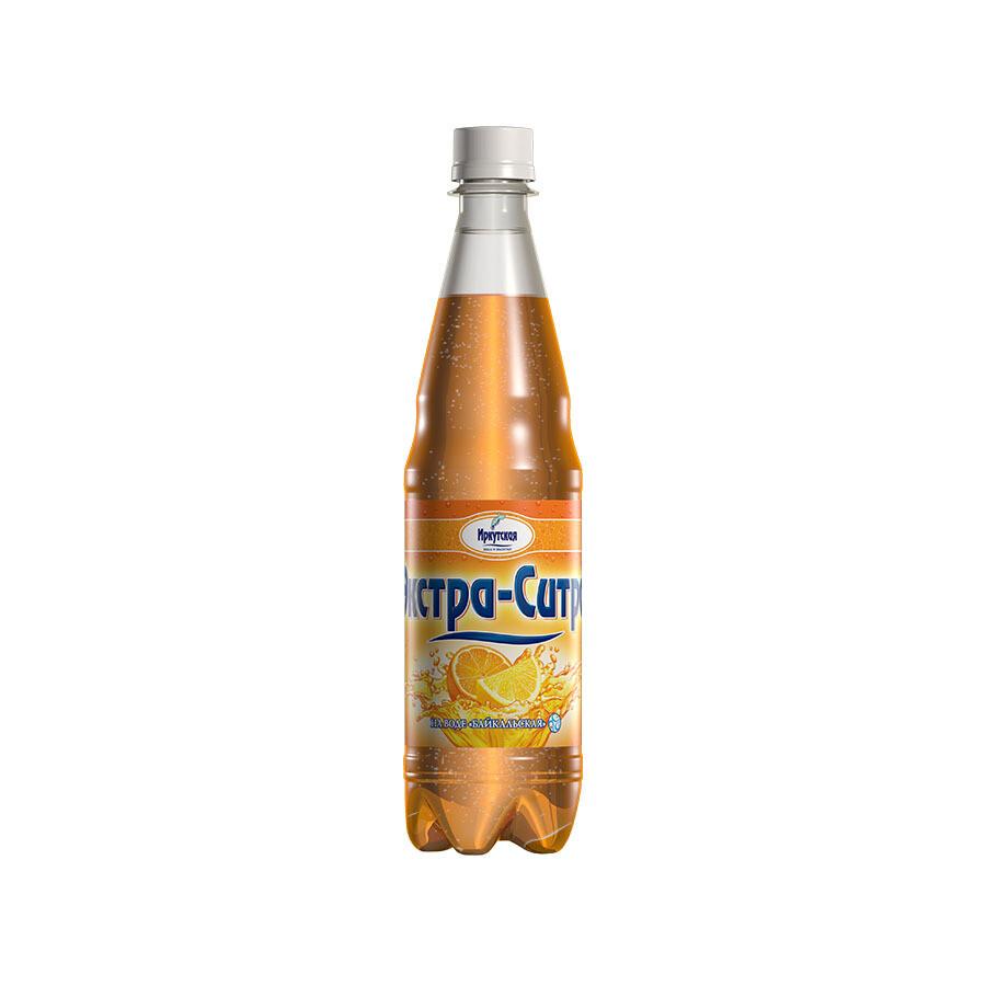 Сильногазированный напиток «Экстра-Ситро», ПЭТ, 12 шт. по 0,6 л