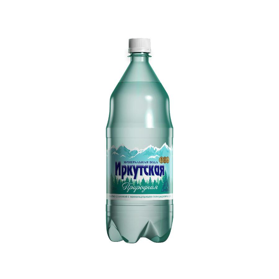 Минеральная лечебно-столовая вода «Иркутская Природная», ПЭТ, 6 шт. по 1,25 л
