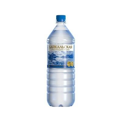 Питьевая вода «Байкальская» газ., ПЭТ, 6 шт. по 1,5 л