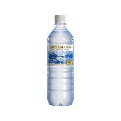 Питьевая вода «Байкальская» не газ., ПЭТ, 12 шт. по 0,5 л